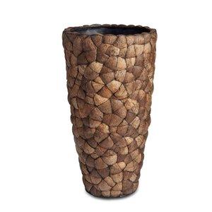Coconut Bosco Vase Small